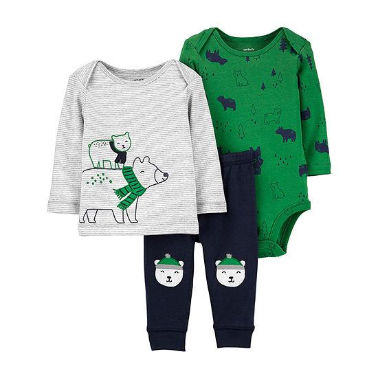 Carter's Boys 3-pc. Baby Clothing Set-Baby