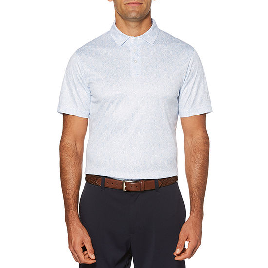 PGA TOUR Mens Short Sleeve Polo Shirt