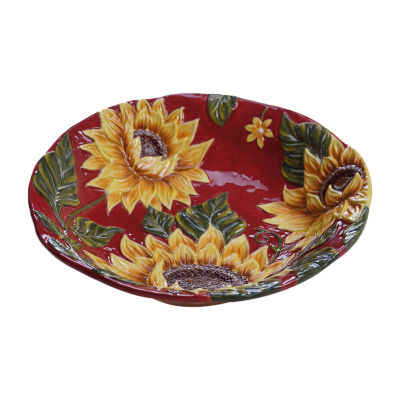 Certified International Sunset Sunflower Serving Bowl