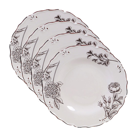 Certified International Vintage Floral 4-pc. Dinner Plate