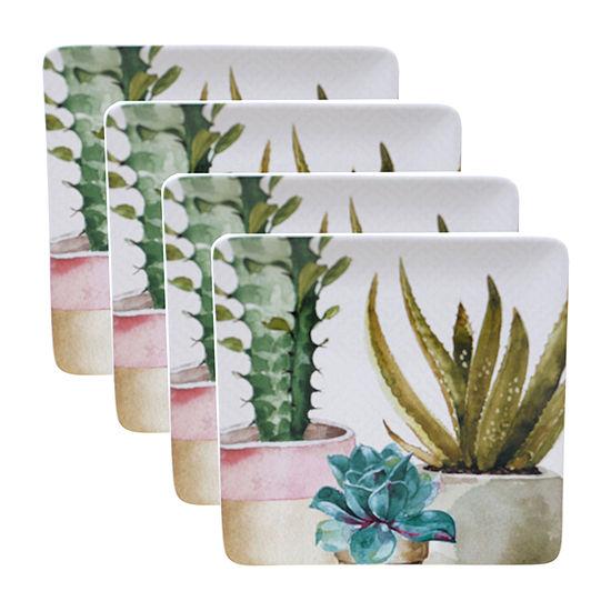 Certified International Cactus Verde 4 Pc Dinner Plate