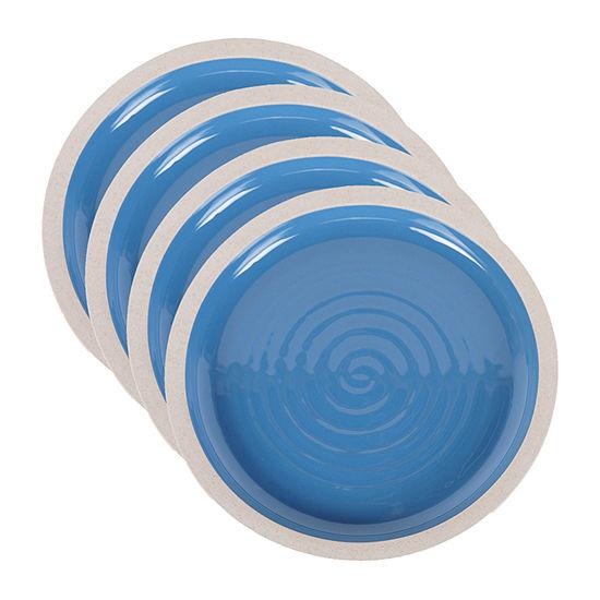 Certified International Artisan Blue 4-pc. Dinner Plate