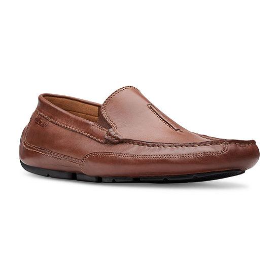 Clarks Mens Ashmont Race Slip-On Shoe