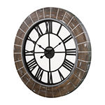 Citizen White Wall Clock-Cc2046