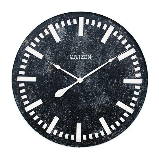 Citizen Gray Wall Clock-Cc2045