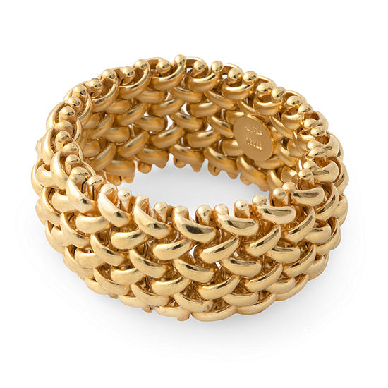 Made in Italy Womens 12MM 14K Gold Band