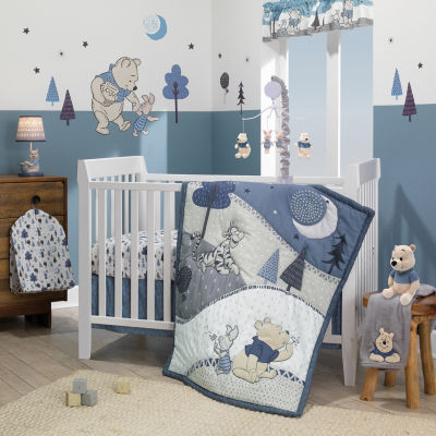 Disney Forever Pooh 3-pc. Winnie the Pooh Crib Bedding Set