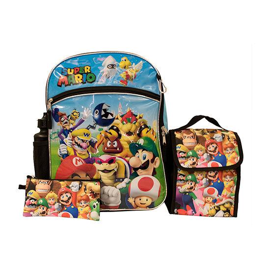 Bts 2019 Backpacks Super Mario Backpack