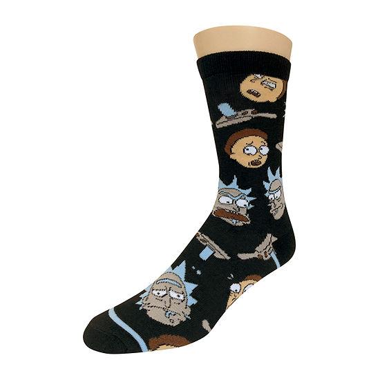 1 Pair Crew Socks-Mens