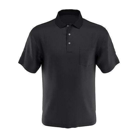PGA TOUR Mens Airflux Pocket Polo