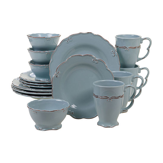 Certified International Vintage Blue 16-pc. Dinnerware Set