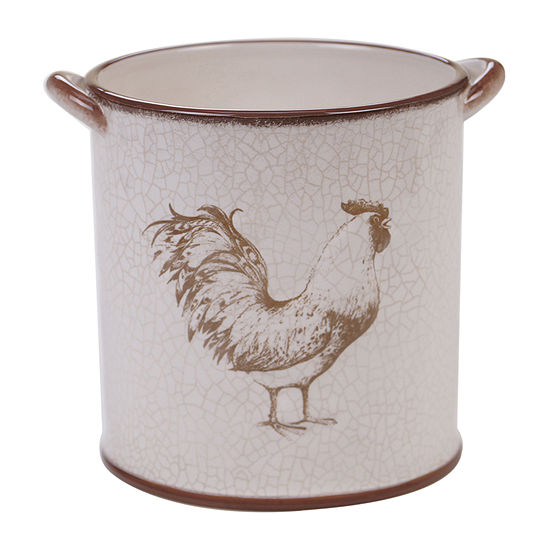 Certified International Toile Rooster Completer Set