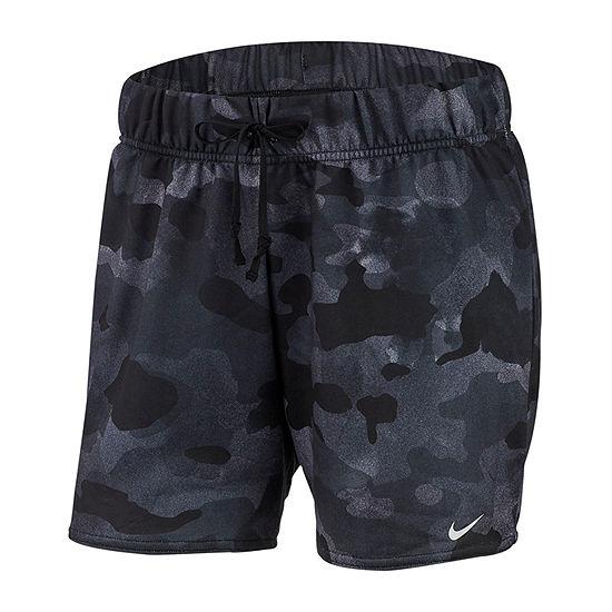 Nike Womens Mid Rise 3 1 2 Running Short