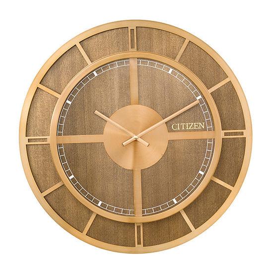 Citizen Brown Wall Clock-Cc2047