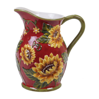 Certified International Sunset Sunflower Serving Pitcher