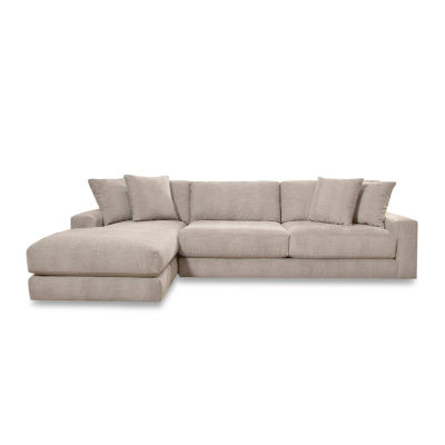 Fabric Possibilities Ponderosa 2-Piece Left Arm Facing Chaise Sectional