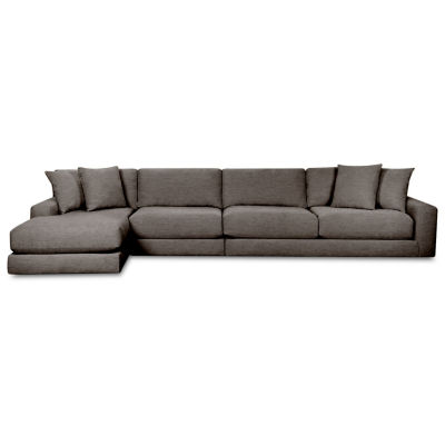 Fabric Possibilities Ponderosa 3-Piece Right Arm Chaise Sectional