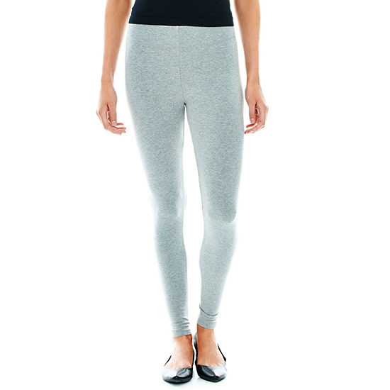 Mixit Womens Petite Full Length Leggings