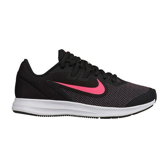 Nike Downshifter 9 Girls Big Kids Running Shoes Girls Sneakers