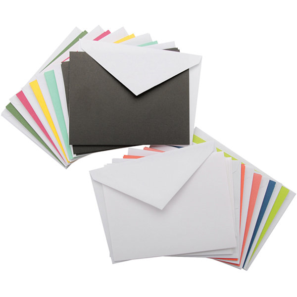 Bright Solid Box of Cards & Envelopes