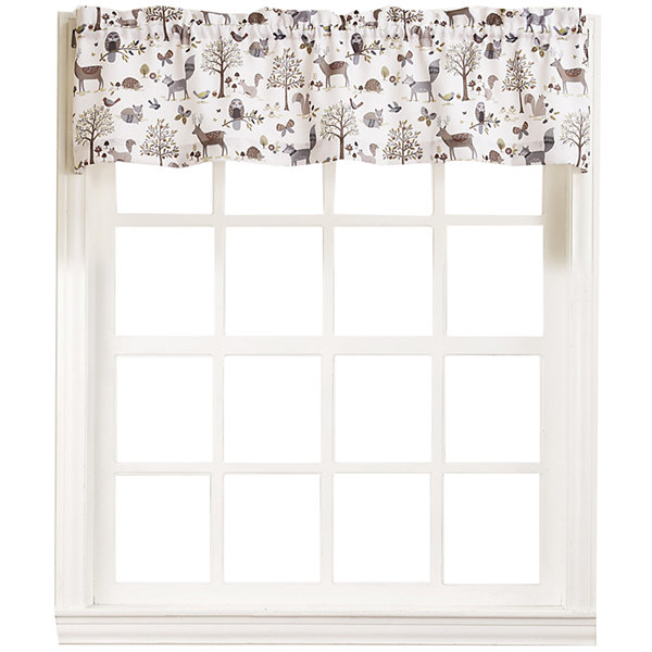 Forest Friends Rod-Pocket Valance