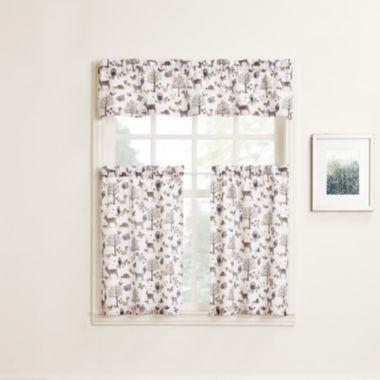 jcpenney.com | Forest Friends Rod-Pocket Kitchen Curtains