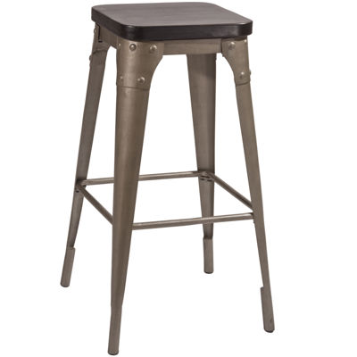 Crompton Backless Barstool