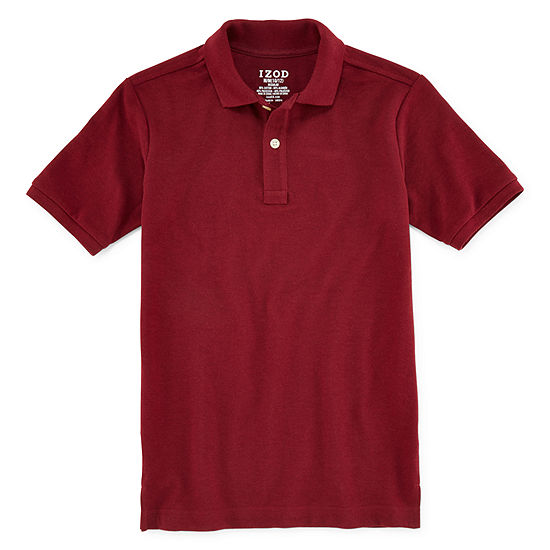 Izod Exclusive Little Boys Short Sleeve Polo Shirt