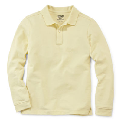IZOD® Long-Sleeve Piqué Polo - Preschool Boys 4-7