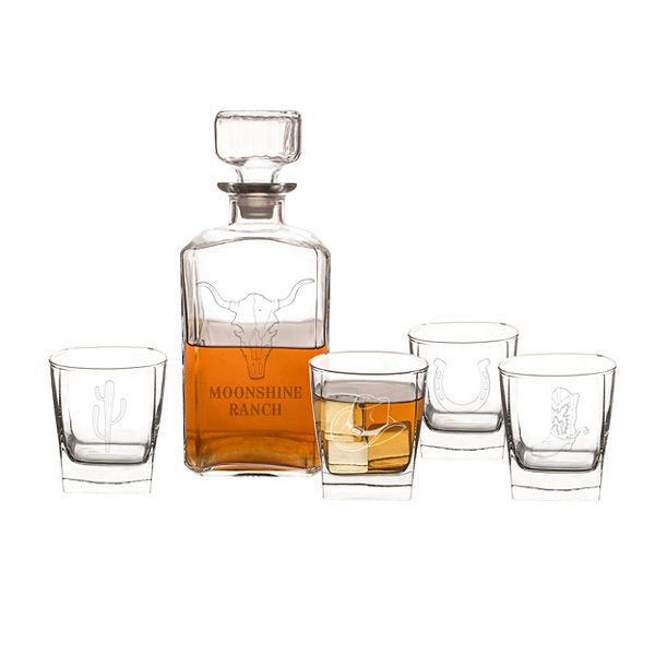 Cathy's Concepts Western 5-pc. Decanter Set