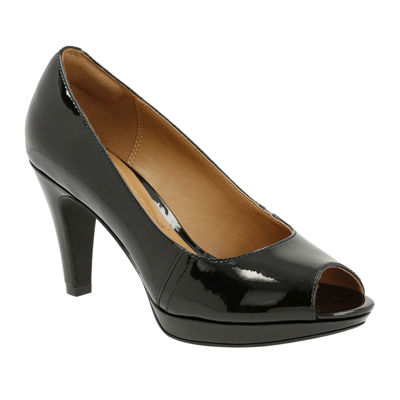 Clarks® Narine Rowe High-Heel Pumps
