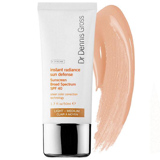 Dr. Dennis Gross Skincare Instant Radiance Sun Defense Sunscreen Broad Spectrum SPF 40