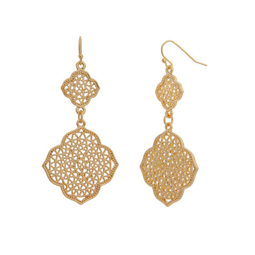 Bold Elements June Bold Elements Newness Drop Earrings