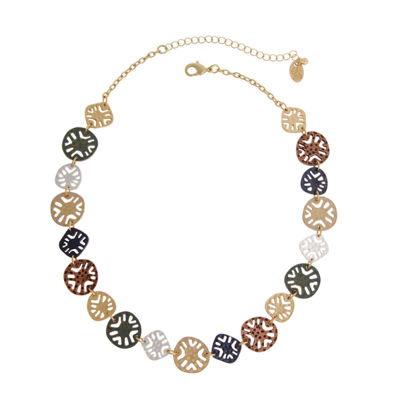 Bold Elements June Bold Elements Newness Womens Round Collar Necklace