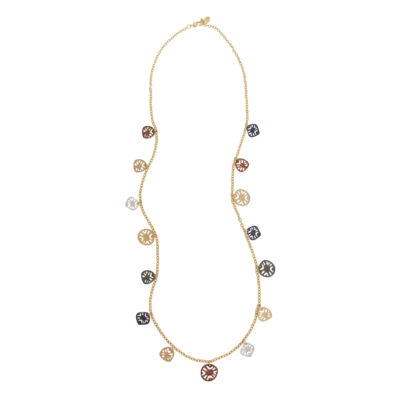 Bold Elements June Bold Elements Newness 36 Inch Hollow Cable Chain Necklace