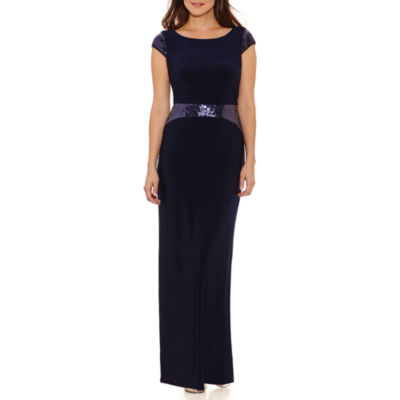 Scarlett Sleeveless Evening Gown-Petites