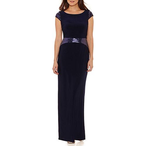 Scarlett Sleeveless Evening Gown-Petites