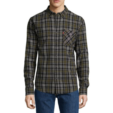Levi's® Tongass Long Sleeve Flannel Shirt