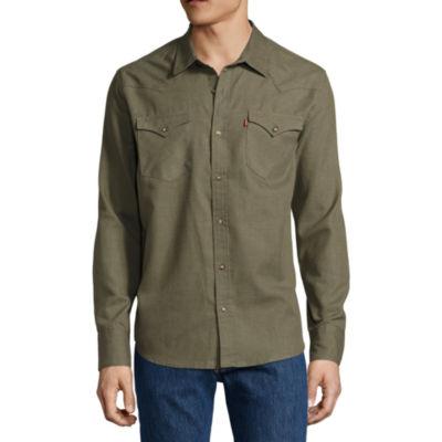 Levi's® Derrick Long Sleeve Woven
