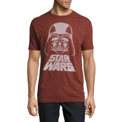 Star Wars Darth Vader Rubberized Texture Graphic Tee