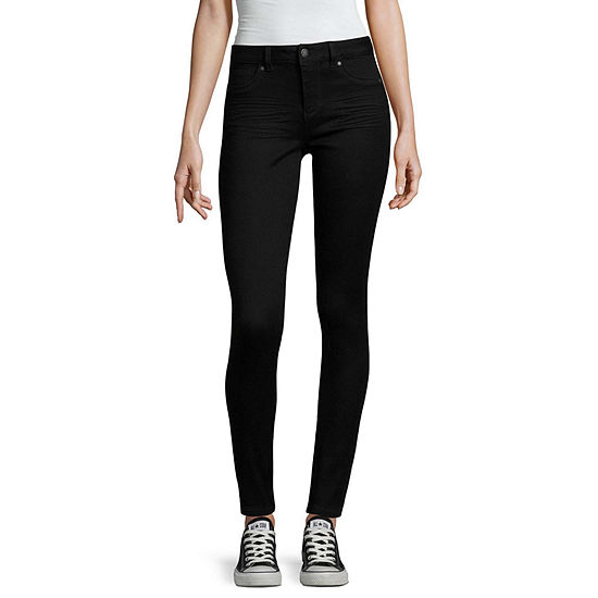 Blue Spice High Rise Skinny Jeans-Juniors