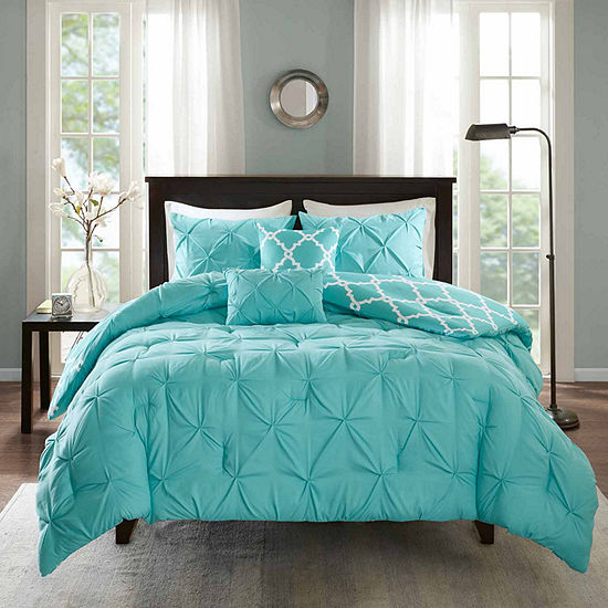 Madison Park Essentials Devin 5-pc. Reversible Comforter Set