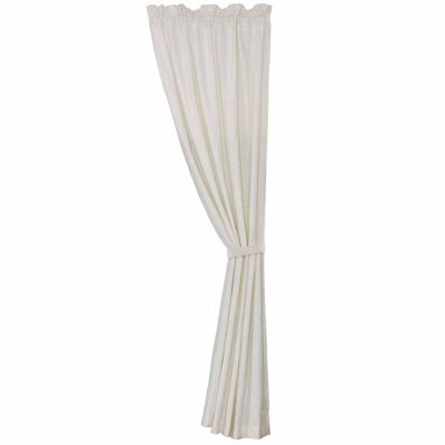 Hiend Accents 48x108 New Port Linen Rod-Pocket Curtain Panel