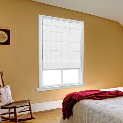 JCPenney Home Luna Large Fold Custom Cordless Roman Shade