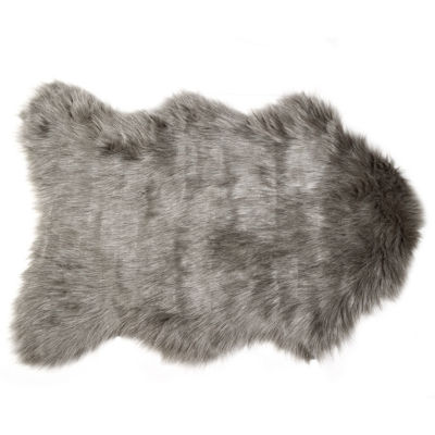 Gordon Faux Sheepskin Hand Knotted Rugs
