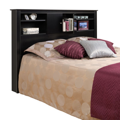 Prepac Kallisto Bookcase Headboard with Doors