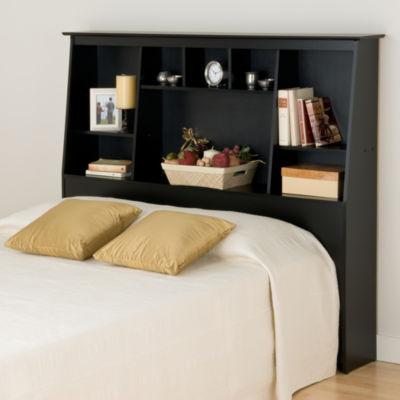 Prepac Tall Slant-Back Bookcase Headboard