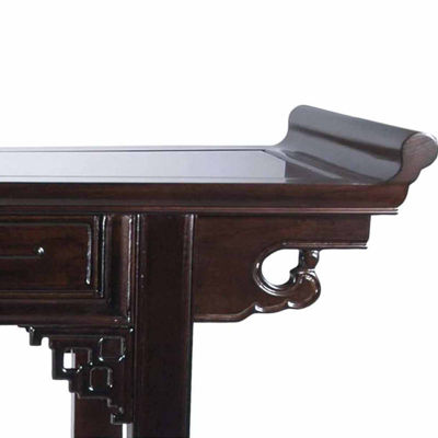 Oriental Furniture Qing Hall Console Table