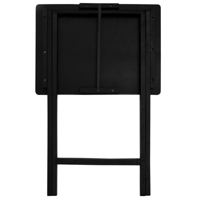 Birds And Flowers 4-pc. TV Tray Table