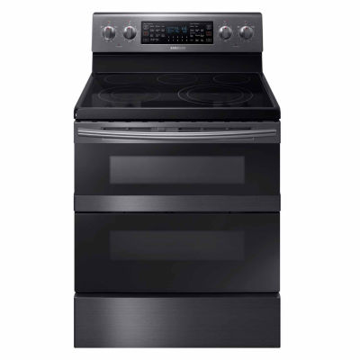 Samsung 5.9 cu. ft. Smart Wi-Fi Enabled Electric Flex Duo™ Range with Soft Close and Dual Door